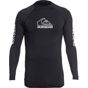 Quiksilver On Tour Camiseta Manga Larga Hombre, black